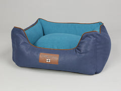 Beckley Orthopaedic Walled Dog Bed - Deluxe Edition - Aquamarine, Small