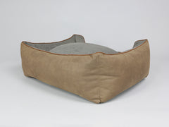 Monxton Orthopaedic Box Bed - Cocoa / Deep Bronze, Large - 90 x 70 x 33cm