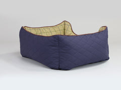 Country Box Bed - Midnight Blue, Small - 60 x 50 x 27cm