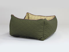Country Box Bed - Olive Green, Small - 60 x 50 x 27cm
