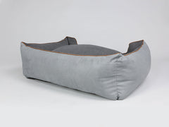 Selbourne Orthopaedic Box Bed - Silver / Iron, X-Large - 105 x 80 x 36cm