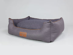 Hursley Orthopaedic Box Bed - Vineyard / Violet, X-Large - 105 x 80 x 36cm