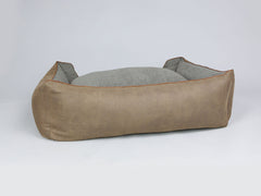 Monxton Box Bed - Cocoa / Deep Bronze, X-Large - 105 x 80 x 36cm