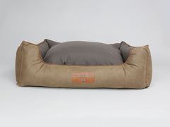 Monxton Box Bed - Cocoa / Chestnut, X-Large - 105 x 80 x 36cm