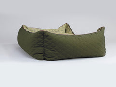 Country Orthopaedic Walled Dog Bed - Olive Green, X-Large