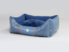 Holmsley Walled Dog Bed – Regal Blue, Small