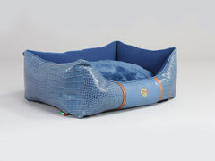 Holmsley Box Bed – Regal Blue, Small - 60 x 45 x 19cm