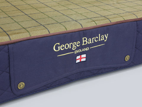 Country Mattress Bed - Midnight Blue, XX-Large - 135 x 90 x 15cm