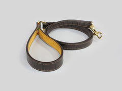 Holmsley Leather Lead – Mahogany Brown, 120cm (47in.)