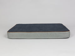 Beckley Dog Mattress - Pewter / Anthracite, Large