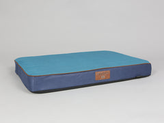Beckley Mattress Bed - Deluxe Edition - Aquamarine, Large - 100 x 70 x 10cm
