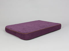 Exbury Dog Mattress - Deluxe Edition - Blackberry, Large