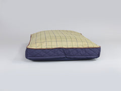 Country Mattress Bed - Midnight Blue, Large - 100 x 70 x 10cm