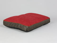 Beckley Mattress Bed - Deluxe Edition - Mahogany / Cherry, Medium - 80 x 60 x 8cm