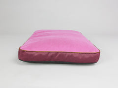Selbourne Dog Mattress - Grape / Fuchsia, Medium