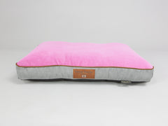 Selbourne Mattress Bed - Fossil / Fuchsia, Medium - 80 x 60 x 8cm