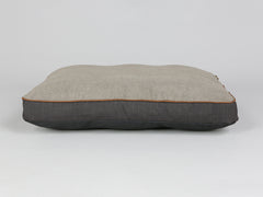 Hyde Mattress Bed - Espresso / Latte, Medium - 80 x 60 x 8cm