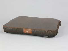 Beckley Dog Mattress - Mahogany / Chestnut, Medium