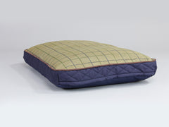 Country Mattress Bed - Midnight Blue, Medium - 80 x 60 x 8cm