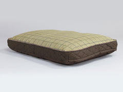 Country Mattress Bed - Chestnut Brown, Medium - 80 x 60 x 8cm
