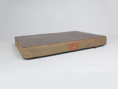 Monxton Mattress Bed - Cocoa / Chestnut, X-Large - 120 x 80 x 12cm
