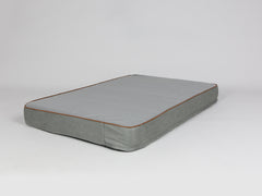 Beckley Mattress Bed - Pewter / Ash, X-Large - 120 x 80 x 12cm