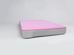 Selbourne Mattress Bed - Fossil / Fuchsia, X-Large - 120 x 80 x 12cm