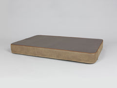 Ashurst Mattress Bed - Chestnut, X-Large - 120 x 80 x 12cm