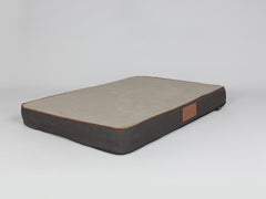 Hyde Mattress Bed - Espresso / Latte, X-Large - 120 x 80 x 12cm