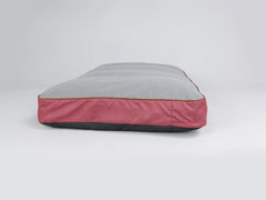 Hursley Mattress Bed - Cabernet / Ash, X-Large - 120 x 80 x 12cm