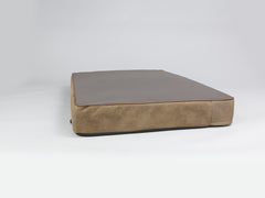 Monxton Mattress Bed - Cocoa / Chestnut, XX-Large - 135 x 90 x 15cm