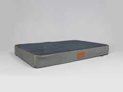 Beckley Mattress Bed - Pewter / Anthracite, XX-Large - 135 x 90 x 15cm