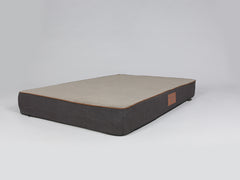 Hyde Mattress Bed - Espresso / Latte, XX-Large - 135 x 90 x 15cm