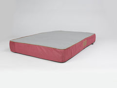 Hursley Mattress Bed - Cabernet / Ash, XX-Large - 135 x 90 x 15cm