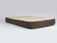 Country Mattress Bed - Chestnut Brown, XX-Large - 135 x 90 x 15cm
