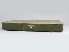 Country Mattress Bed - Olive Green, XX-Large - 135 x 90 x 15cm