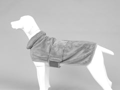 MuttMOP® Dog Drying Robe (Grey)