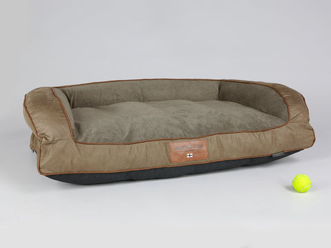 Exbury Dog Sofa Bed - Latte, Large