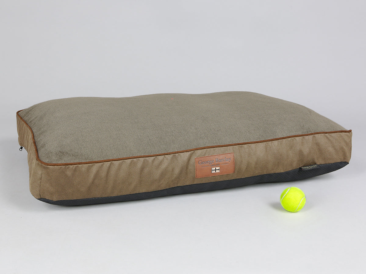 Exbury Dog Mattress - Latte, Large