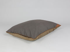 Ashurst Orthopaedic Pillow Bed - Chestnut, Large - 100 x 70cm