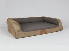 Ashurst Sofa Bed - Chestnut, Large - 120 x 75 x 27cm