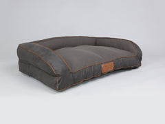 Hursley Sofa Bed - Chocolate / Chestnut, Large - 120 x 75 x 27cm