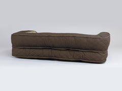Country Sofa Bed - Chestnut Brown, Large - 120 x 75 x 27cm