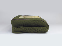 Country Sofa Bed - Olive Green, Large - 120 x 75 x 27cm