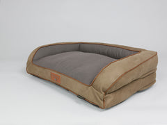 Monxton Sofa Bed - Cocoa / Chestnut, Medium - 90 x 65 x 22cm
