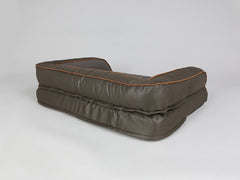 Beckley Sofa Bed - Mahogany / Chestnut, Medium - 90 x 65 x 22cm