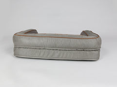 Beckley Dog Sofa Bed - Taupe / Chestnut, Medium