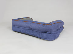 Beckley Sofa Bed - Navy / Ash, Medium - 90 x 65 x 22cm
