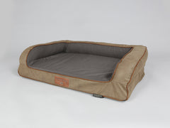Ashurst Sofa Bed - Chestnut, Medium - 90 x 65 x 22cm
