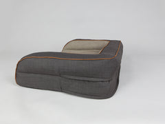 Hyde Dog Sofa Bed - Espresso / Latte, Medium